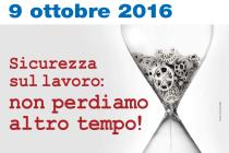 Il 9 ottobre la 66ª edizione della Giornata Nazionale per le Vittime degli Incidenti sul Lavoro